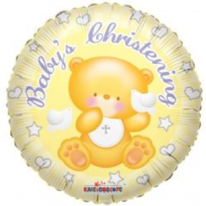 "BABY'S CHRISTENING BALLOON 18""  17932-18"